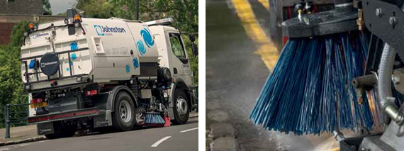 Kelston is an approved gearbox supplier to Johnston Sweepers