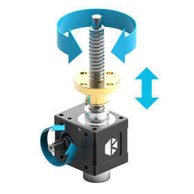 Rotating Screw Jack