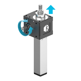 Translating Keyed Screw Jack